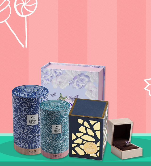 Jindieli gift packaging boxes product banner