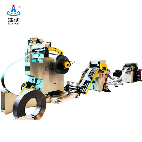 High-speed Cut To Length Line Machine