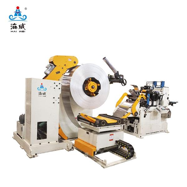 3 in 1 Decoiler Straightener Feeder NCHW3A (stock thickness 1.0~6.0mm)