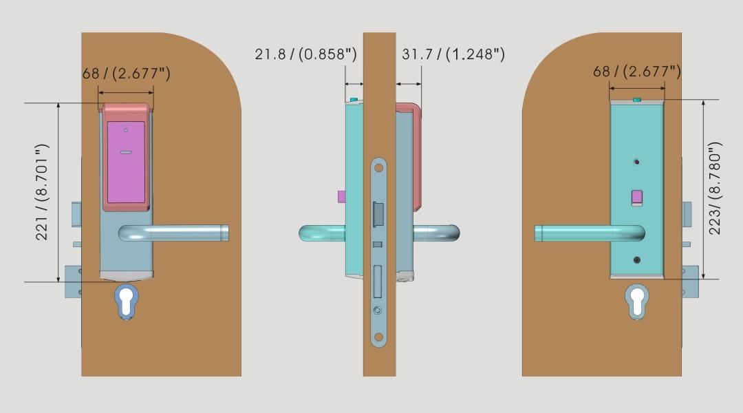 Base II LEVER RFID 05