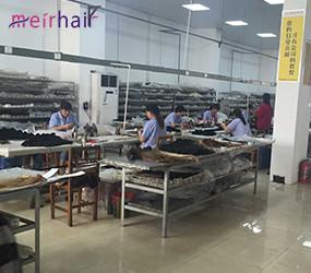 China Virgin Hair Factory