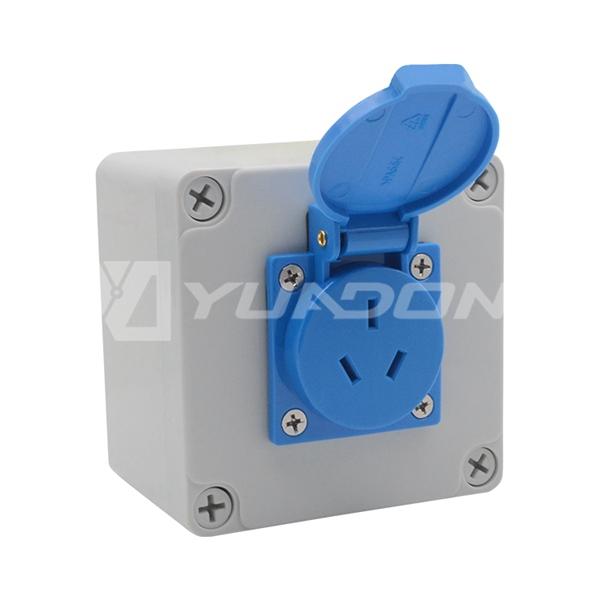 防水jrs直播免费直播台球防紫外线接线底盒 IP65户外防水防潮底盒