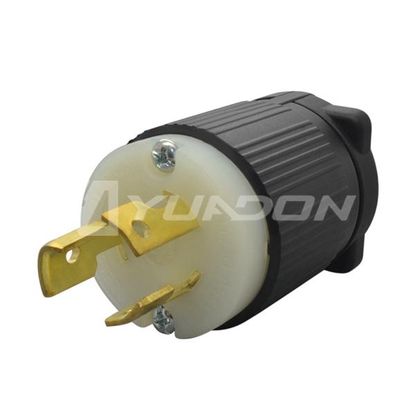 NEMA L5-15P 美式UL认证插头 菲律宾加拿大插头jrs直播免费直播台球连接器
