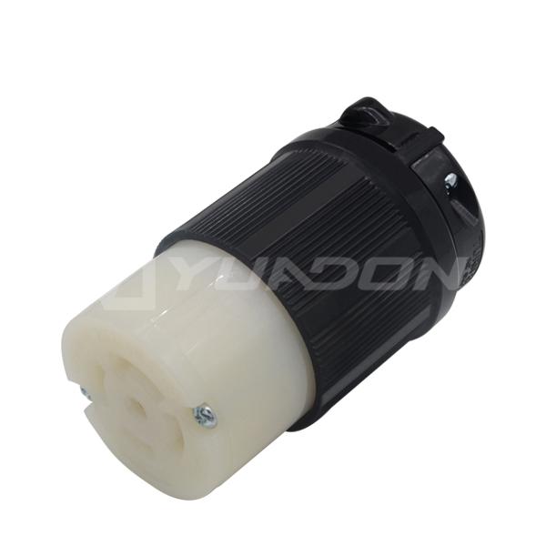 NEMA L21-30P美式美标五芯组装插头 30A自锁式大功率美规电源插头