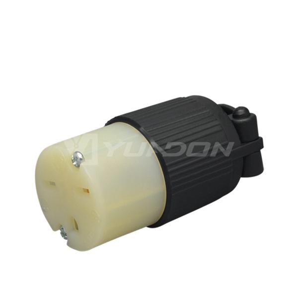 现货NEMA 6-15C美标组装电源jrs直播免费直播台球 15A美规三孔对接装配式工业jrs直播免费直播台球