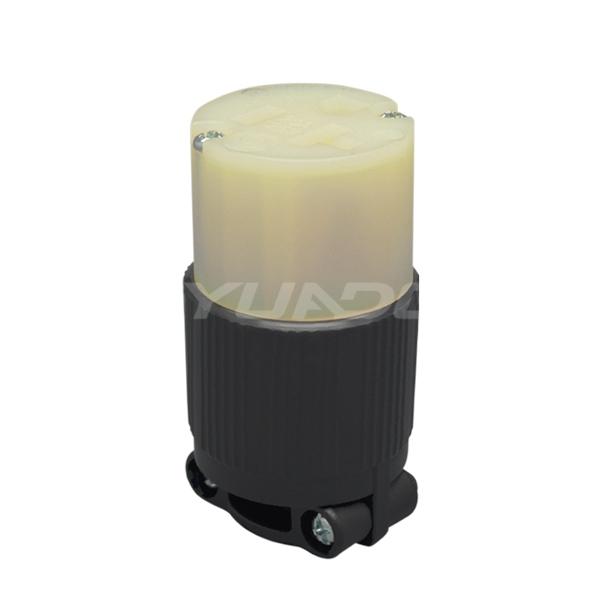 翼德电源插头NEMA美标AC 美规大功率连接器20A三孔美式对接jrs直播免费直播台球
