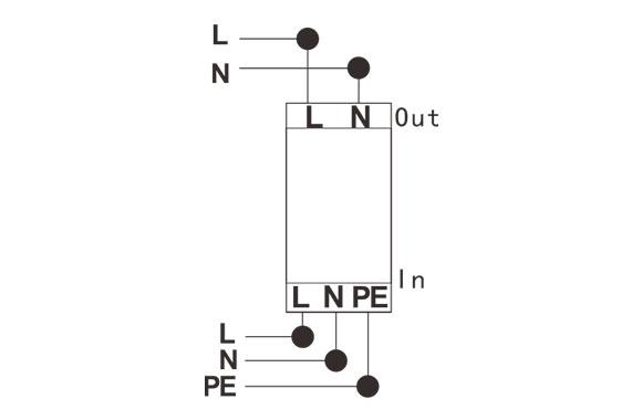 LED Street Light Surge Protector 12