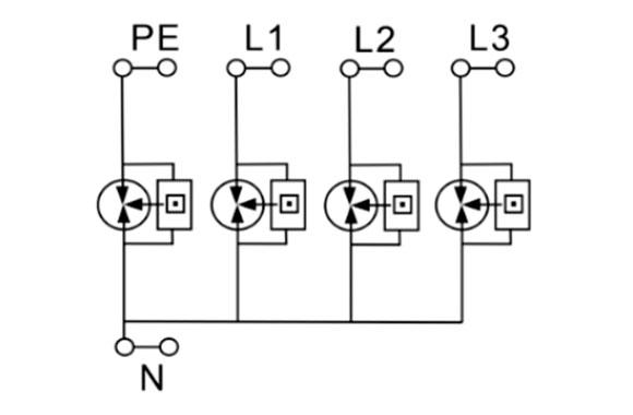 Power Surge Protector (Class B / Type 1) 06