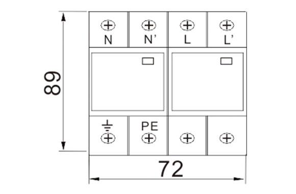 Power Surge Protector (Class B / Type 1) 08