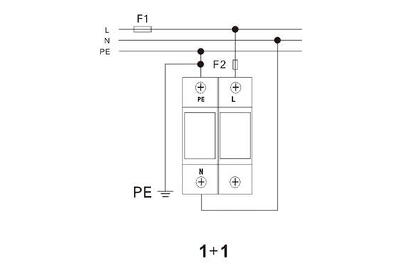 Power Surge Protector (Class B / Type 1) 10