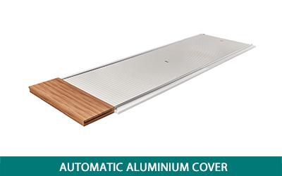 Automatic aluminium cover