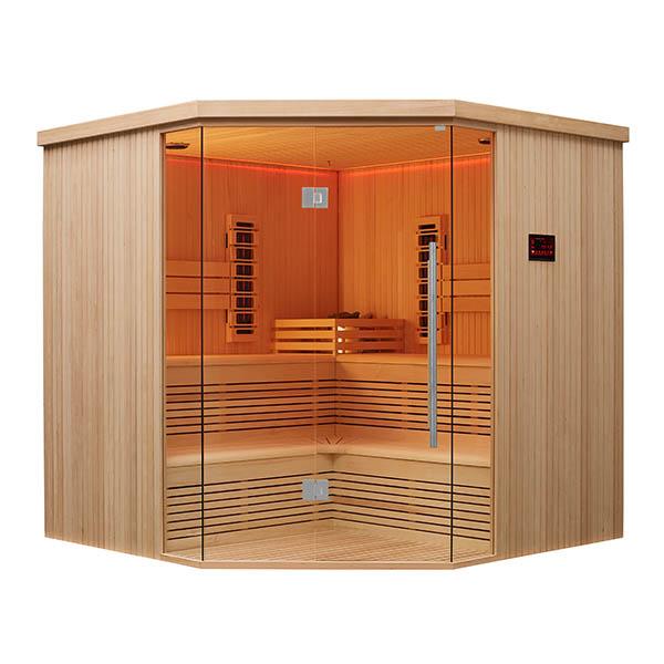 Corner Sauna Room,Heat Sauna Room,High Tech Health Sauna House