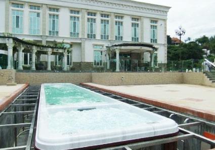 Malasia Jintong Holiday Village Massage Pool Project