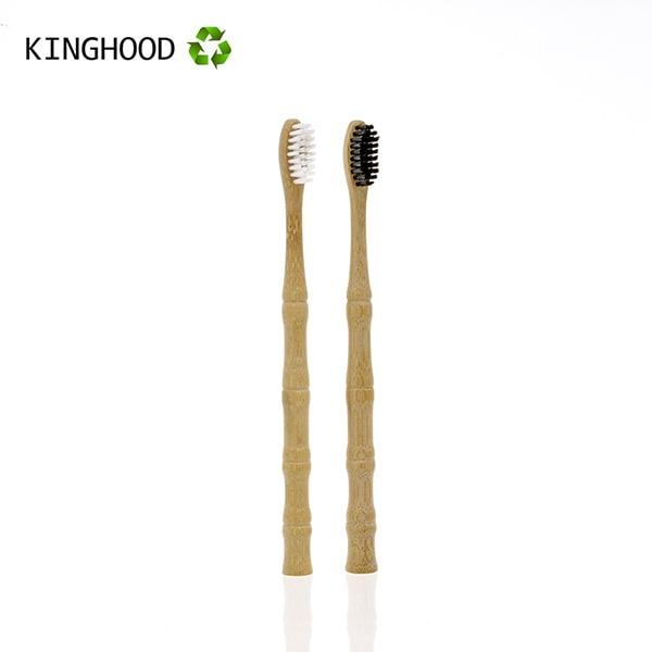 Bamboo Toothbrush With Stand