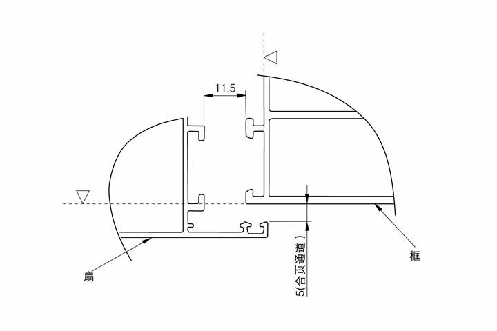 标准欧标20槽口配合尺寸
