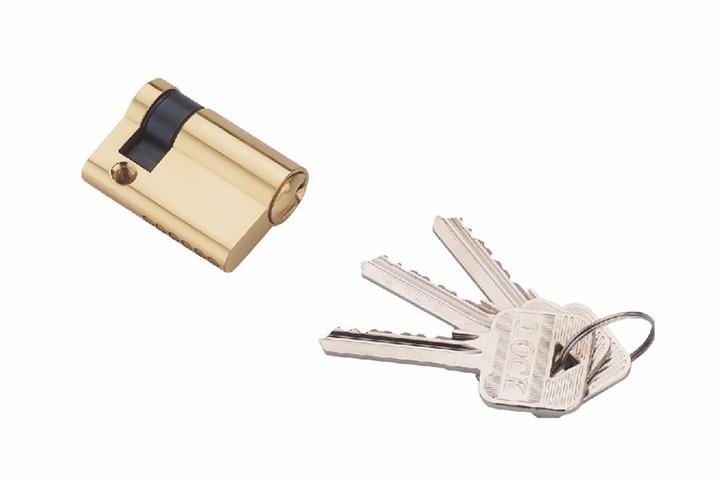 半欧标锁芯
