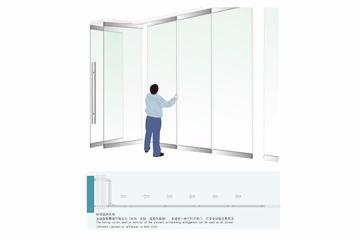 玻璃折叠门配件